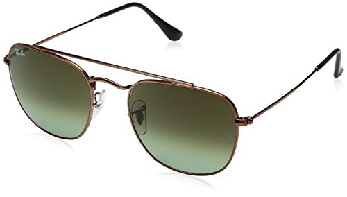 68b20788cc Ray-Ban Men s Metal Man Non-Polarized Square Sunglasses (RB3557 ...
