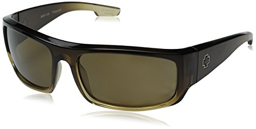 SPY Optic Piper Polarized Sunglasses, Stylish Wrap Sport Sunglasses