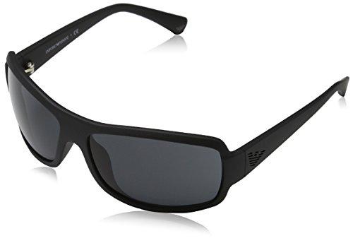 Emporio Armani EA 4012 Men's Sunglasses Matte Black 63
