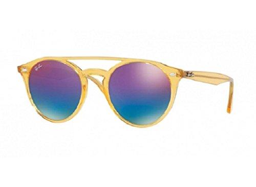 Ray-Ban Women's Round Brow Bar Sunglasses
