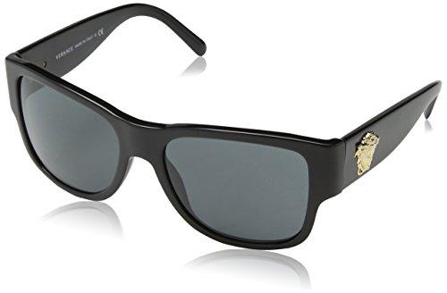 Versace sunglasses VE4275 GB1/87 Acetate Black – Gold Black